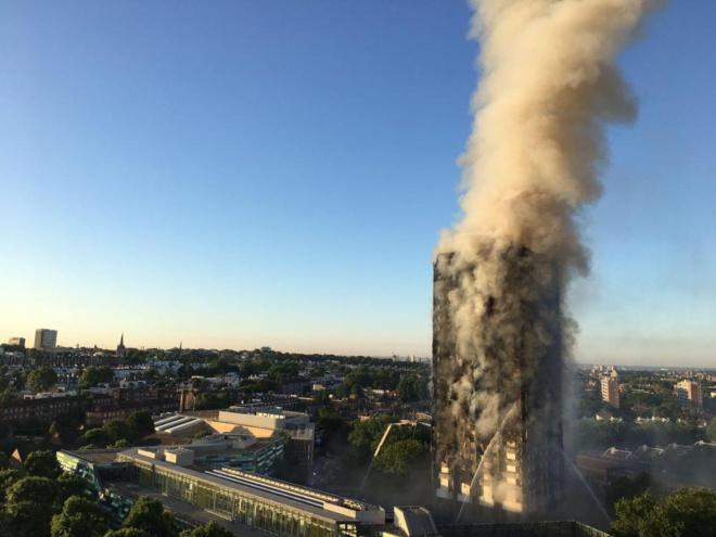 Désastre de la Grenfell Tower à Londres