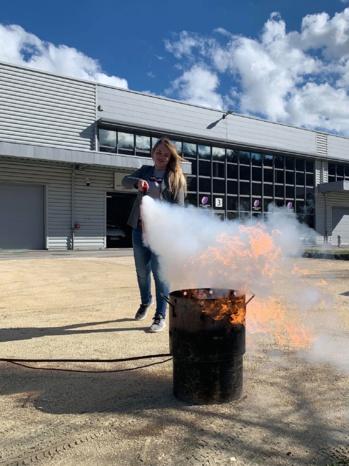 Sauriez-vous comment réagir en cas d'incendie ?