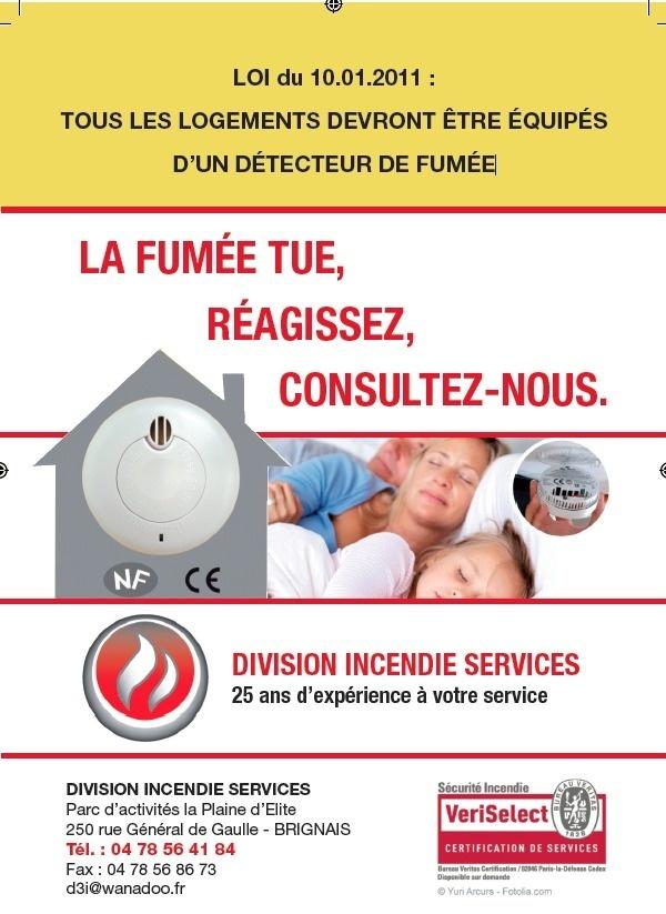 D tecteurs de fum e brignais - Loi detecteur de fumee obligatoire ...