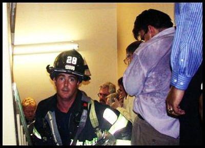 Evacuation du World Trade Center le 11 septembre 2001