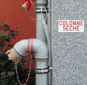 COLONNES SECHES