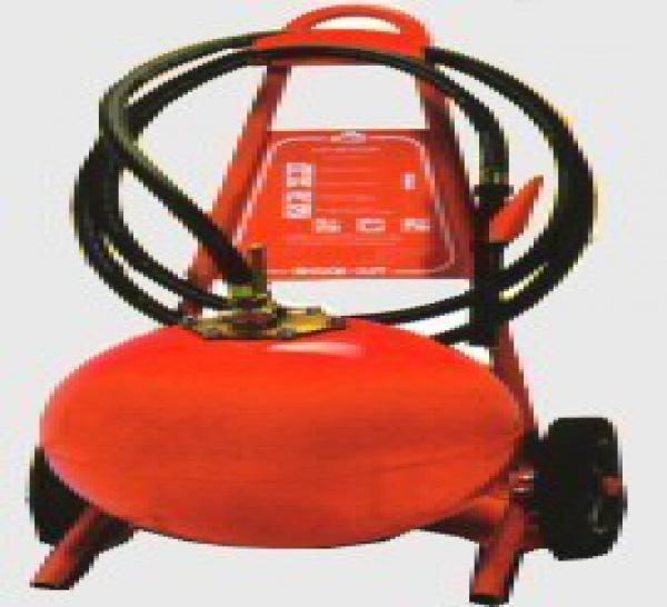 Extincteurs à poudre sèche montés sur roues