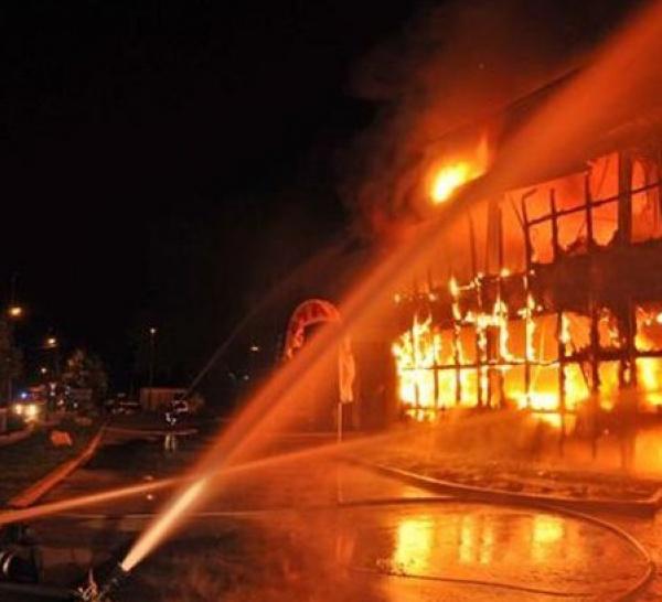 Incendie à Brignais le 09/10/2010