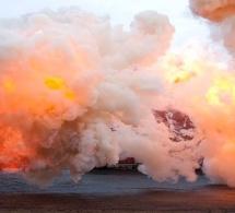 Incendie, attention aux explosions de fumées !